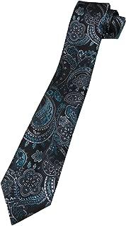 VanHeusen Men's Paisley Tie, Teal