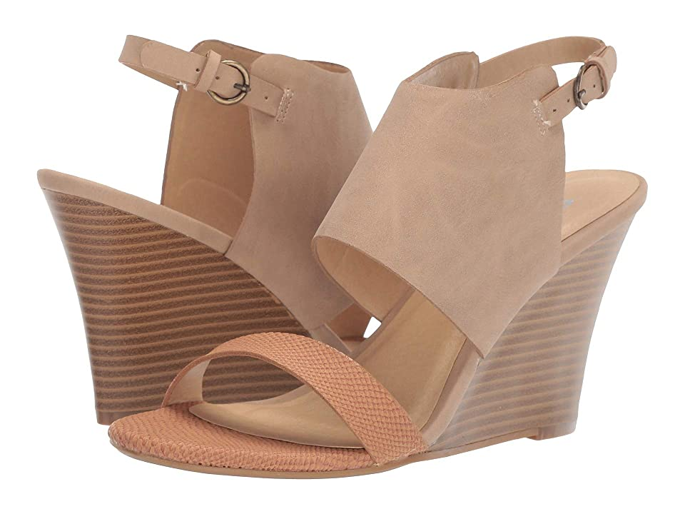 CL By Laundry Becoming (Tan/Nude Snake/Nubuck) Women