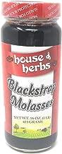 House Of Herbs Molasses Blackstrap, 16 Oz (Pack of 3). Packaging may vary