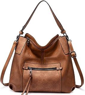 Realer Hobo Handbags for Women Shoulder Bag Large Crossbody Bags with Tassel