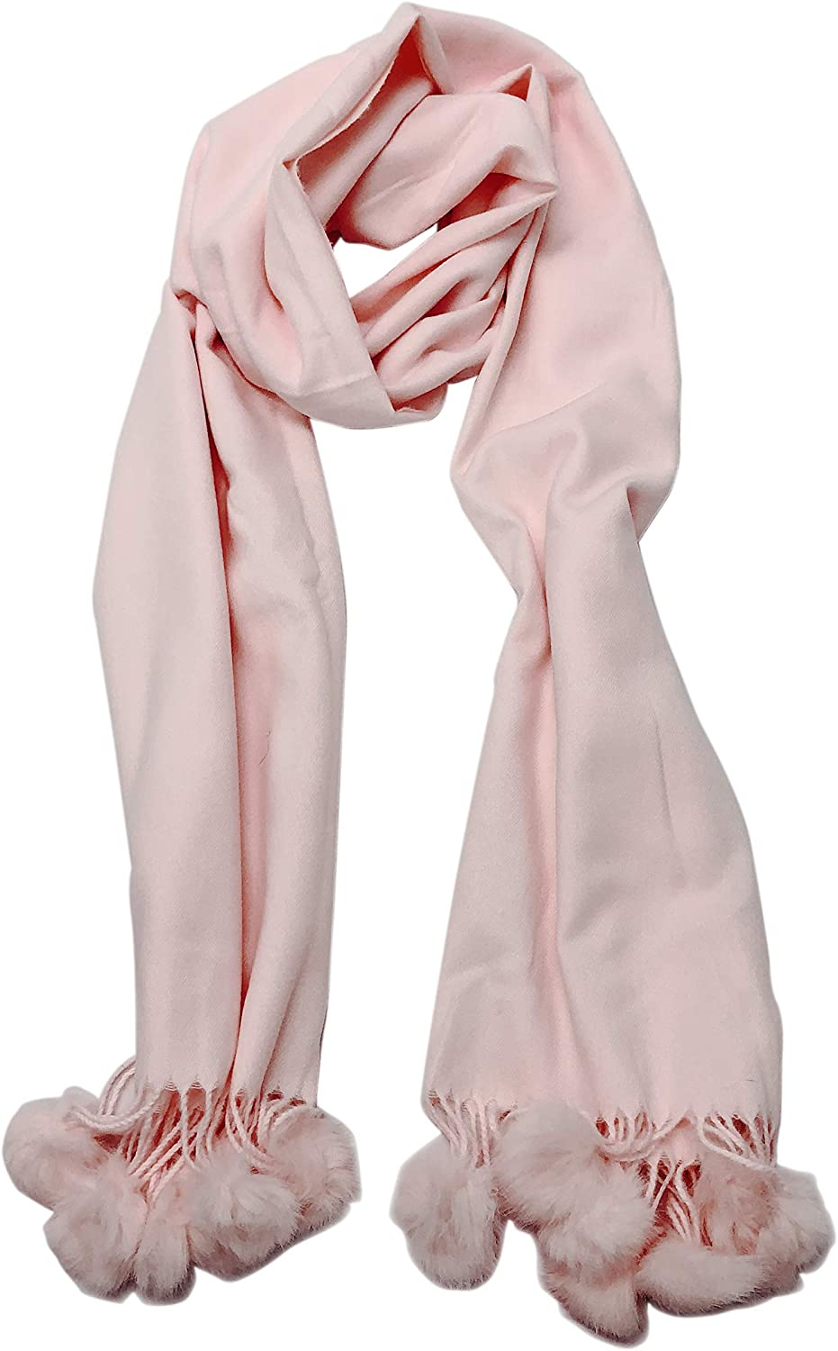 Allgala Oversized Cashmere Like Solid Color Wrap Scarf