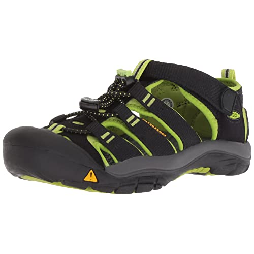 Kids Stylish Walking Water Sports Outdoor Trekking Leather Beach Casual Closed Toe Girls Footwear Shoes Athletic Flat Black Hafiot Sandals Boys Summer