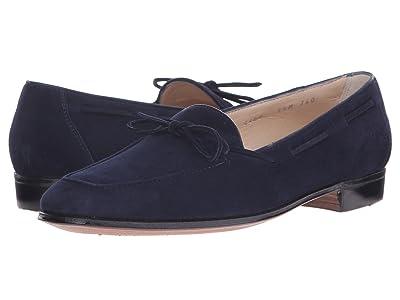 Gravati Bowed Velukid Slip-On Loafer (Navy) Women