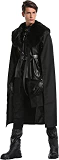 Jon Snow Knights Watch Outfit Halloween Party Cosplay Costumes for Men and Child