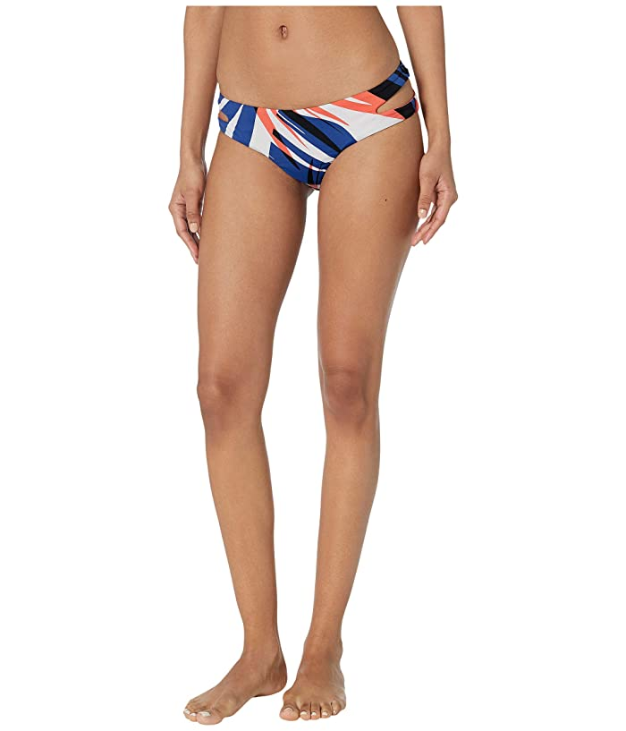 THE BIKINI LAB Sonic Boom Cut Out Hipster Bottoms (Multicolored) Women