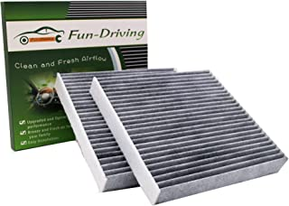 車エアコンのフィルター,適用するトヨタ/日産/マツダ/スバル/ダイハツ/スズキ,特殊3層構造活性炭,代わりにDCC7003,014535-1660,対応純正品番 88568-37010,88568-B2020,88568-B2030,8856...