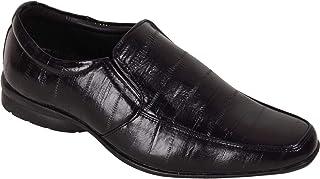 BATA Men Black Slip On Formal Shoes