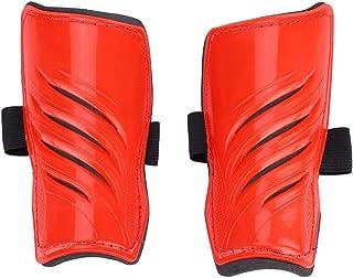 5,91 X 3,07 X 1,18 tum fotbenskydd, rena bekväma benskydd, andas för övningsfotbollsspelare(red)