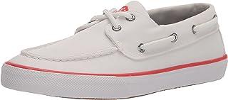 Sperry Bahama SeaCycled, Chaussure Bateau Homme, Blanc, 41.5 EU