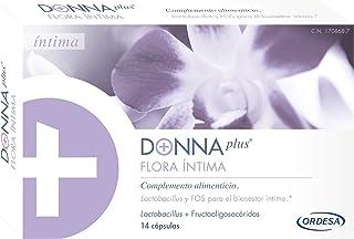 DonnaPLus Flora Íntima. 14 cápulas. Complemento alimenticio a base