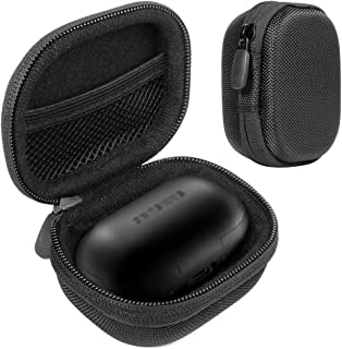 Protective Carrying Case for Samsung Gear IconX (2018 Edition) Bluetooth Cord-Free Fitness Earbuds, Tailored Made, Compact and Light Weight, Strong and Easy to Carry Feature, mesh Pocket for Cable