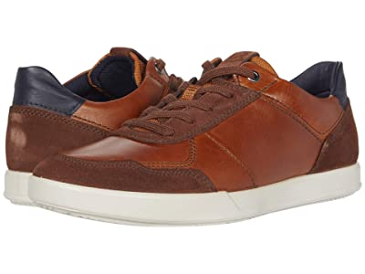 ECCO Collin 2.0 Dress Sneaker (Brandy/Amber/Night Sky) Men