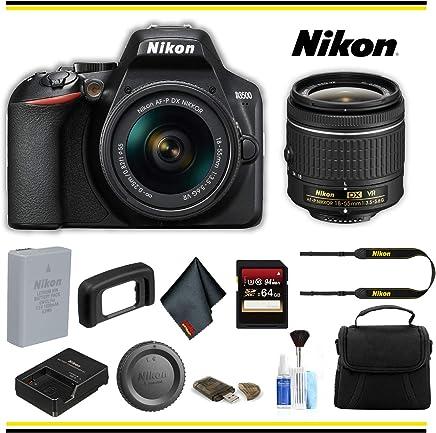 $412 » Nikon D3500 DSLR Camera with 18-55mm Lens (1590) Starter Bundle