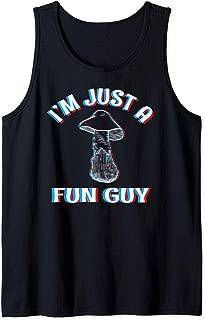 Fun Guy - Funny Trippy Rave EDM Festival Psychedelic Shroom Tank Top