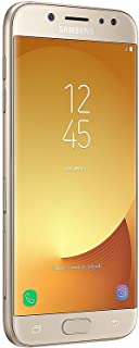 Samsung Galaxy J7 Pro (16GB) J730G - 5.5 inches Full HD Unlocked Phone with Finger Print Sensor (US & Latin 4G LTE) (Gold) (Renewed)