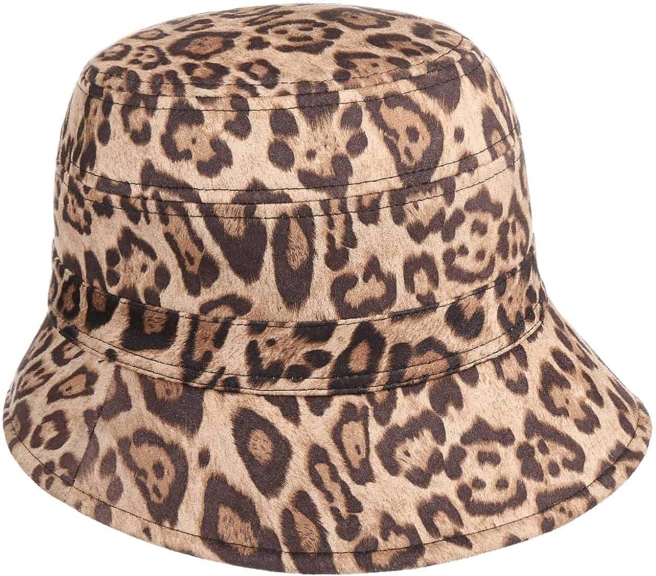 Seeberger Reversible Hat with セール特価品 Leopard Print アイテム勢ぞろい Winter Cloth