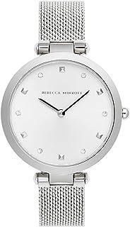 ساعة ريبيكا مينكوف للنساء بسوار ستانلس ستيل، فضي، 13 موديل 2200299