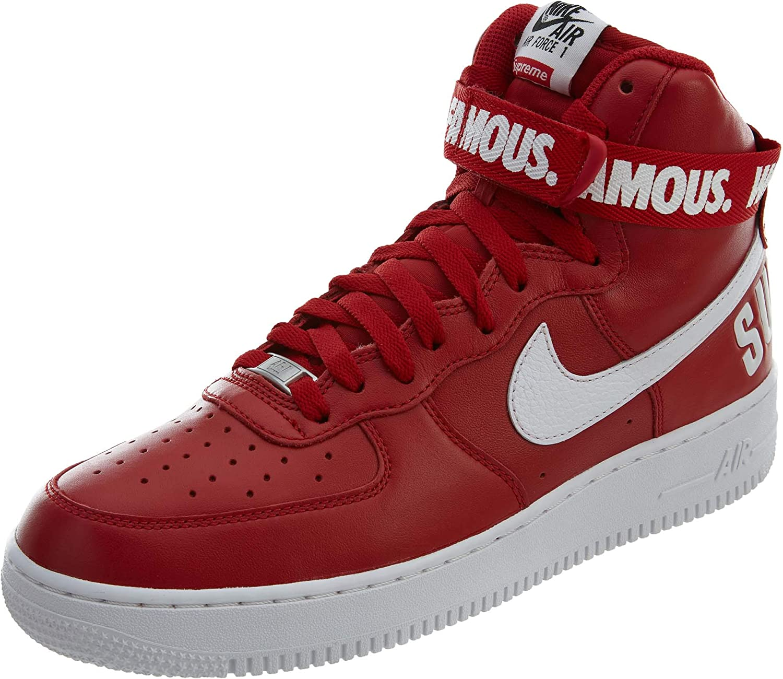 quality design 02e7a 32a52 Nike AIR Force 1 HIGH Supreme Supreme Supreme SP 'Supreme' - 698696-610  B0059KVY60 b27489