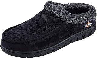 أحذية Dickies للرجال شبشب كلوج المنزل مع نعل داخلي من الفوم المتكيف الخارجي