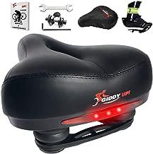 Giddy Up! Bike Seat – Most Comfortable Memory Foam Waterproof Bike Saddle,..