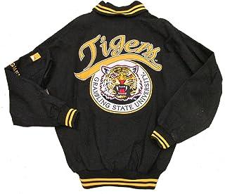 487dc24f23130 Grambling State University Tigers Varsity Trimmed HBCU lack College Mens  Big   Tall Jacket