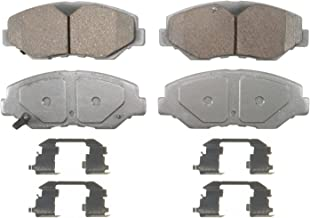 Wagner ThermoQuiet QC914 Ceramic Disc Pad Set With Installation Hardware, Front