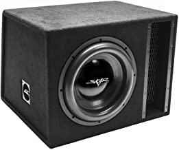 "Skar Audio Single 12"" 2500W Loaded EVL Series Vented Subwoofer Enclosure 