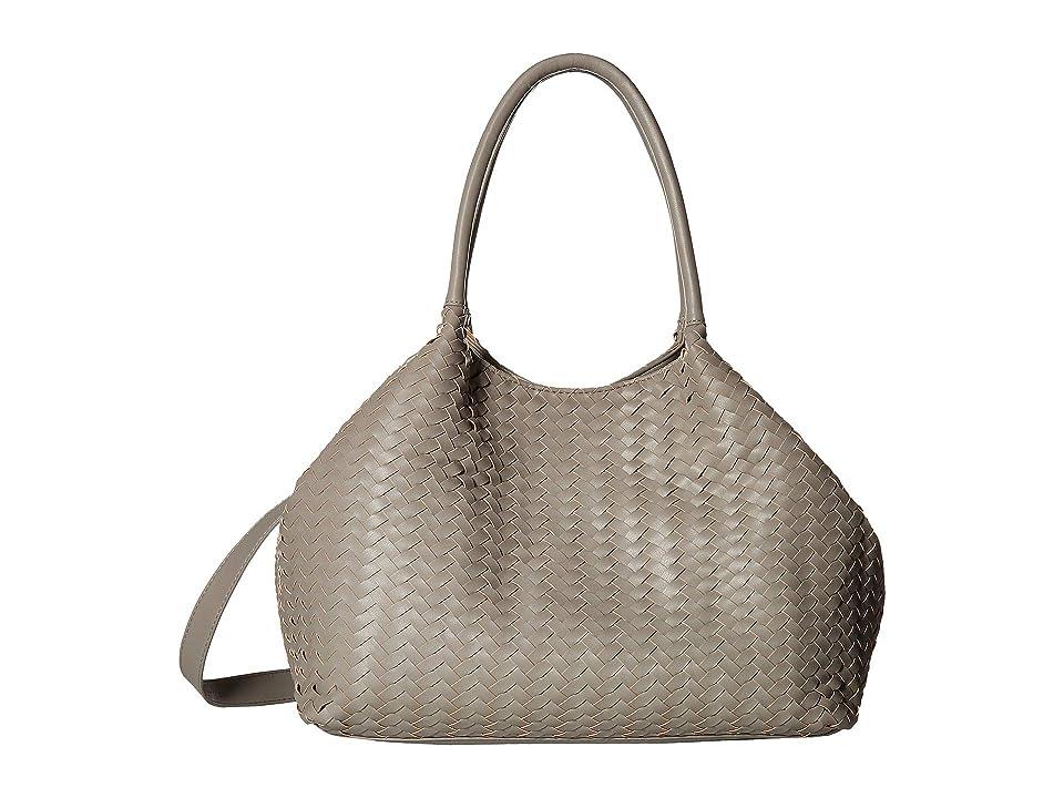 Deux Lux Madison Duffel Grey Satchel Handbags