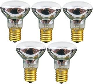 Lava Lamp Replacement Bulb -R39 Shape-25 Watt -E17 Base Lava Lamp Reflector Type Bulbs,5 Pack
