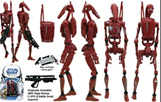 Battle Droids Saga Legacy Collection Star Wars Action Figure (style and colours may vary)