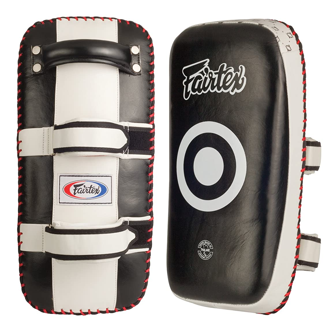 Ringside Fairtex Muay Thai MMA Kickboxing Training Curved Kick Pads (Pair)