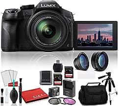 Panasonic Lumix DMCFZ300 Point and Shoot Digital Camera DMC-FZ300K - Bundle Kit with Extra Battery + 2-32GB SDHC Memory Cards + Digital Slave Flash + More
