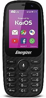 HARDCASE E241S - 4G móvil Desbloqueado - Desarrollado por KaiOS - Enchufe de la UE (Pantalla: 2.40 Pulgadas - 4 GB - Doble Sim - IP68 - Gotas: 1.2 M) Negro