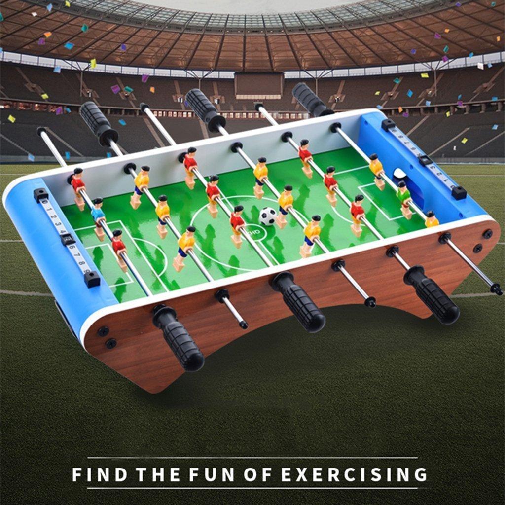 LCPP 6 Varillas de Futbolín de Mesa 2 Personas de Escritorio, Juguete de Futbolín, Mesa de Fútbol, Tabla de Deportes, Mini Juguetes de Interior, Juego de Fútbol Familiar, Juguetes de plástico: Amazon.es: