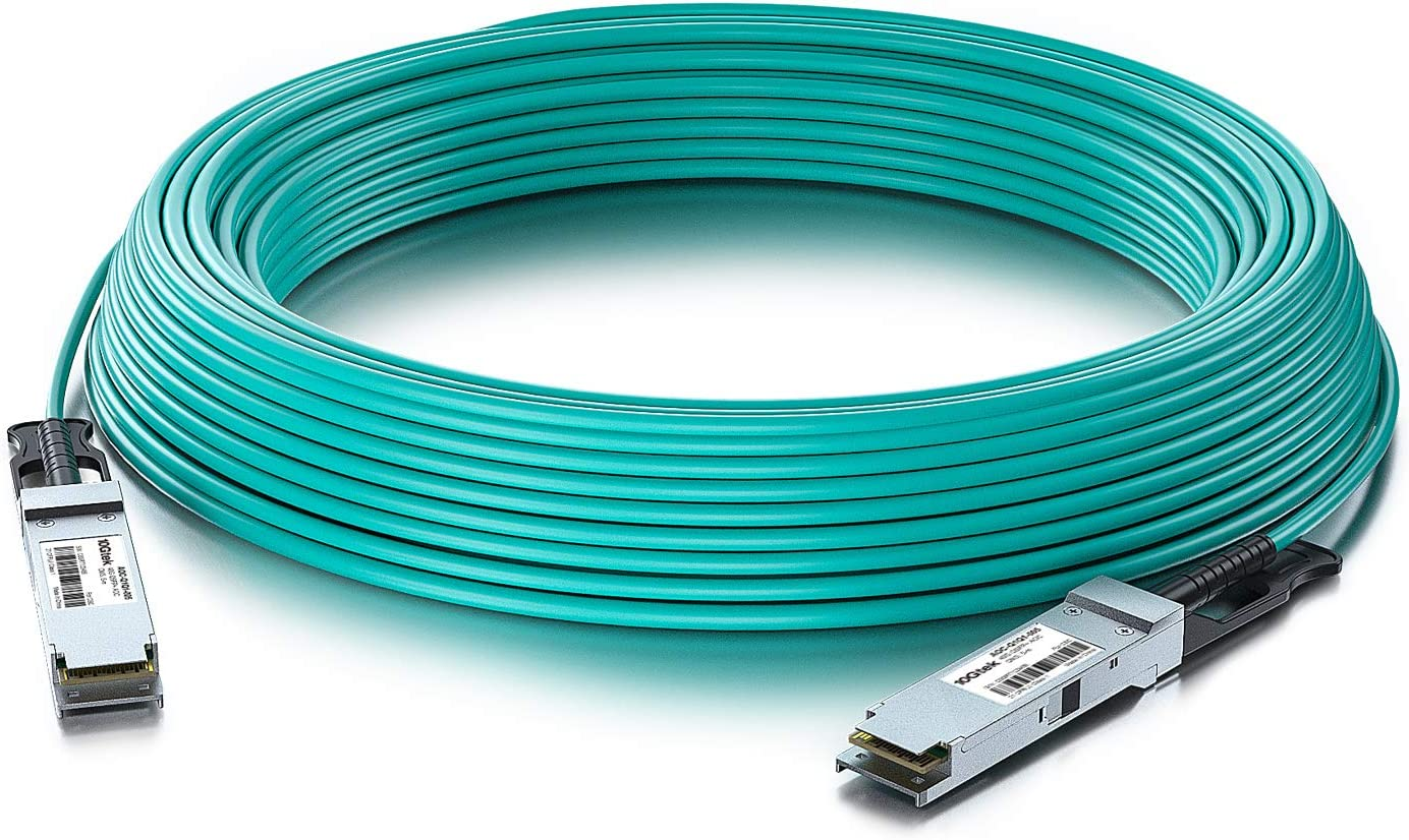 In stock 40G QSFP+ AOC We OFFer at cheap prices Cable - Direct-Attach Opti Active Ethernet 40GBASE