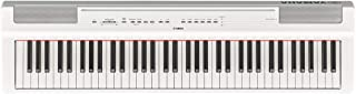 Yamaha P121 73-Key Weighted Action Compact Digital Piano, Wh