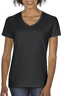 Women's Heavy Cotton V-Neck T-Shirt, 2-Pack