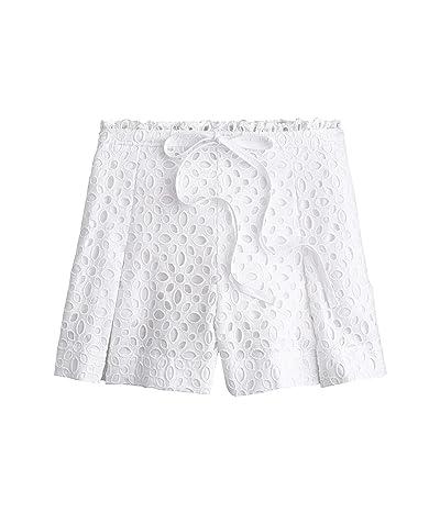 J.Crew Belair Eyelet Shorts (White) Women