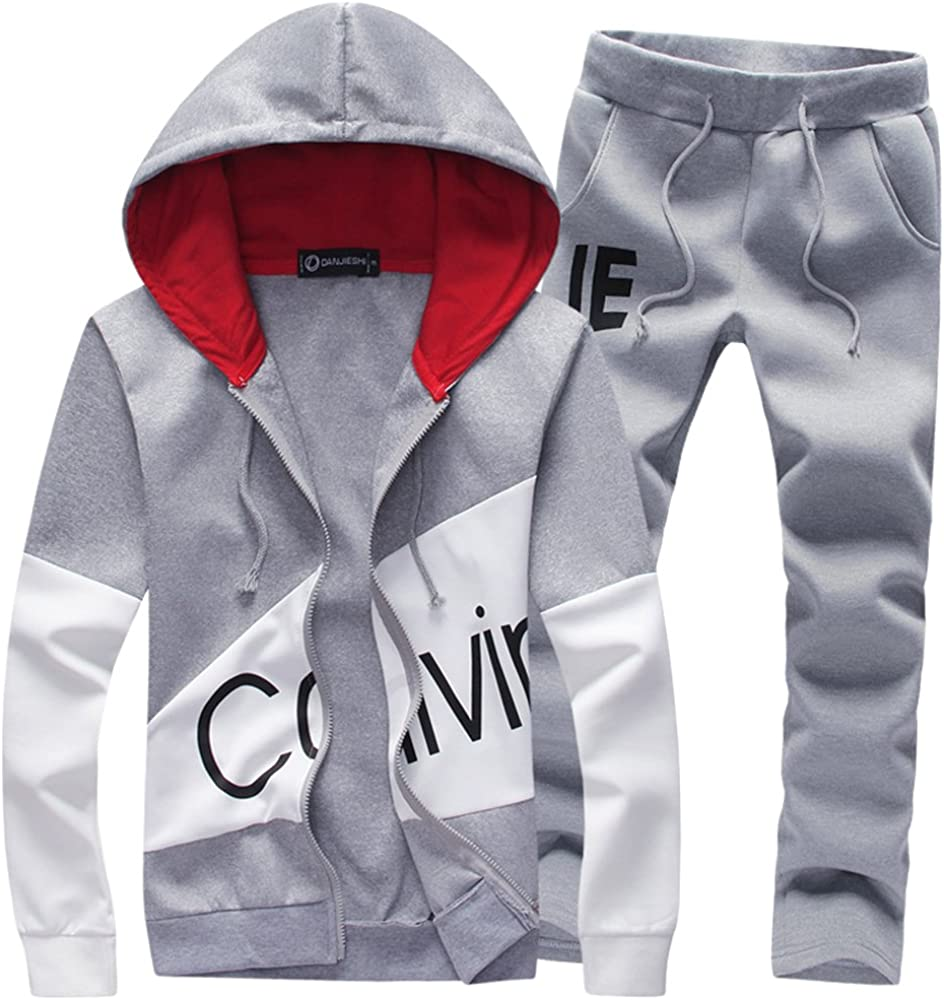 Manluo Men's Tracksuits Directly managed store Print Sweatsuits Sui Jogging Be super welcome Casual Slim