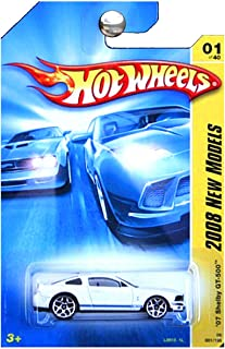 Hot Wheels 2008 New Models 2007 Ford Mustang Shelby GT500 GT-500 White