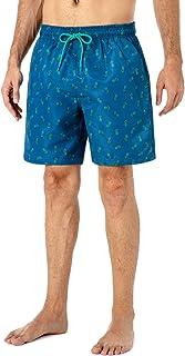 LarissaHi Asexual Flag Captain Shield para Hombres Pantalones Cortos Pantalones Cortos de nataci/ón Ropa de Playa Pantalones Cortos de Playa de Corte cl/ásico