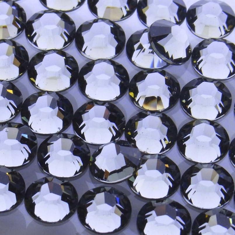 いっぱいタクシー恋人Hotfixブラックダイヤモンドss20(100粒入り)スワロフスキーラインストーンホットフィックス