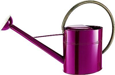 Gardman 8343 Vintage Watering Can, Burgundy, 2.6 Gallon