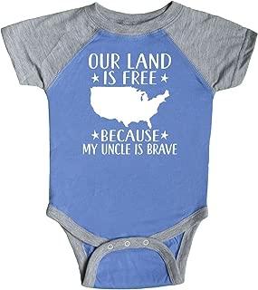 inktastic Military Niece Nephew Patriotic Infant Creeper