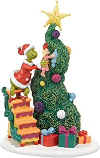 Department 56 Grinch Villages It Takes Two Grinch and Cindy Lou Accessory Figuine, 6 inch