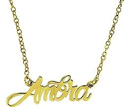 Collana girocollo personalizzabile con il tuo nome | argento 925