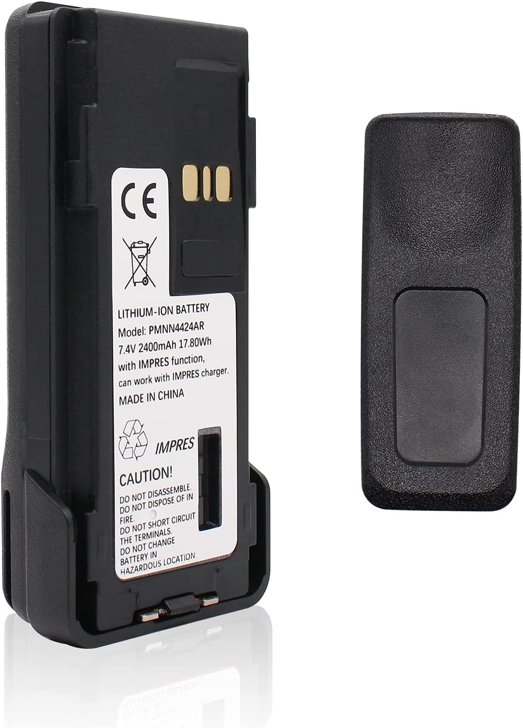 At the price of surprise 7.4V 2400mAh PMNN4424AR IMPRES Rechargeable for Li-ion 67% OFF of fixed price M Battery