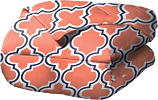 SUPERIOR Comforter Set with Pillow Shams, Coral, Lime King