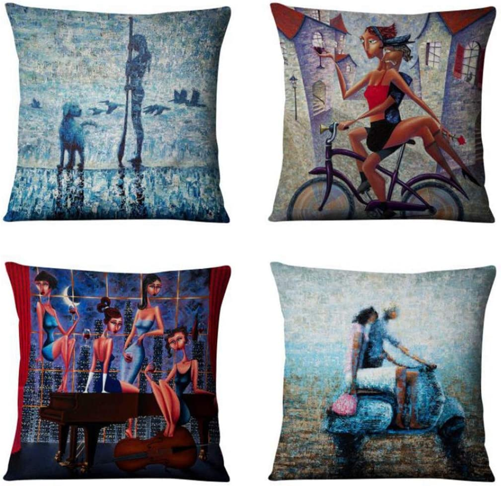 Emvency NEW Decorative Throw Pillow Manufacturer regenerated product Covers Inches Cushion x 18