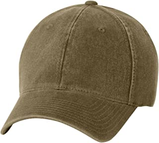 /Yupoong Men's Low-Profile Unstructured Fitted Dad Cap